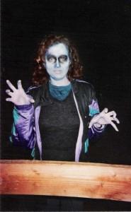 Laura Ann Tull as a zombie in Killer Shrimp.