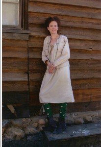 Laura Ann Tull as a Gem Whore on Deadwood.